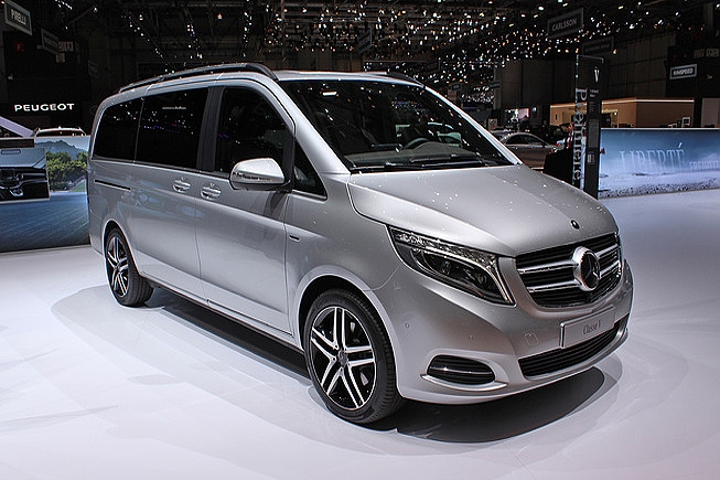Mercedes V Class 7pax In Munich Hire Car Rental Pd Cars Com