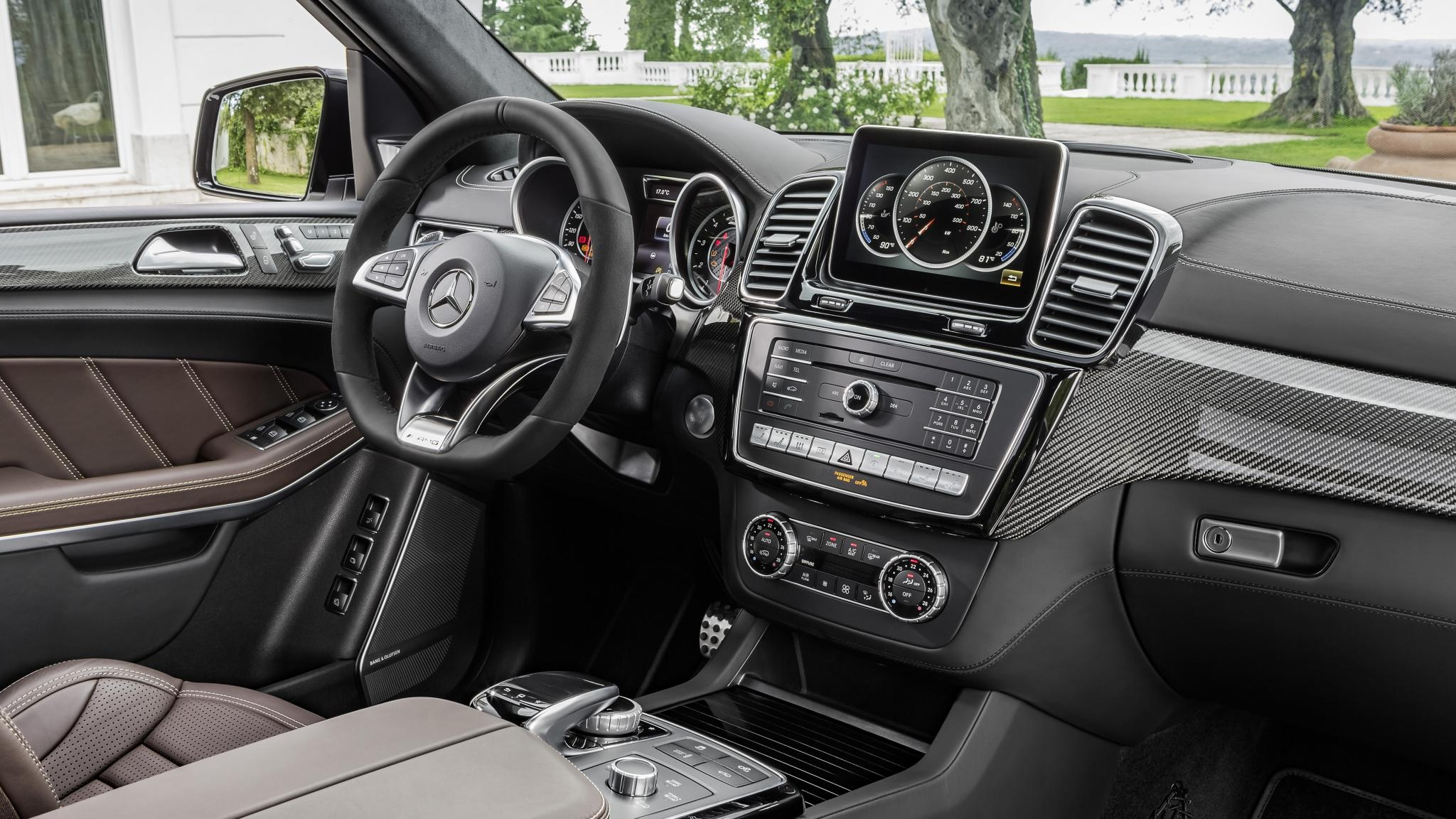 Mercedes GLS 63 AMG in Munich Hire, Car Rental - PD-Cars.com